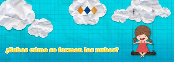 ¿Sabes cómo se forman la nubes?