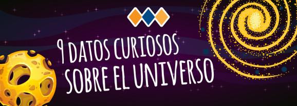 9 datos curiosos sobre el universo