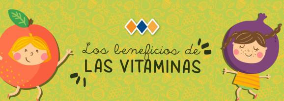 Los beneficios de las vitaminas